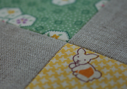 patchwork & linen