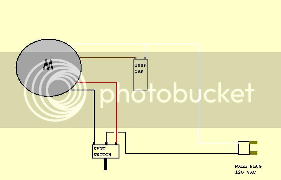 Ac Motor Wiring Diagram Capacitor