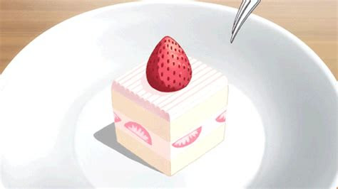 anime food tumblr strawberry shortcake