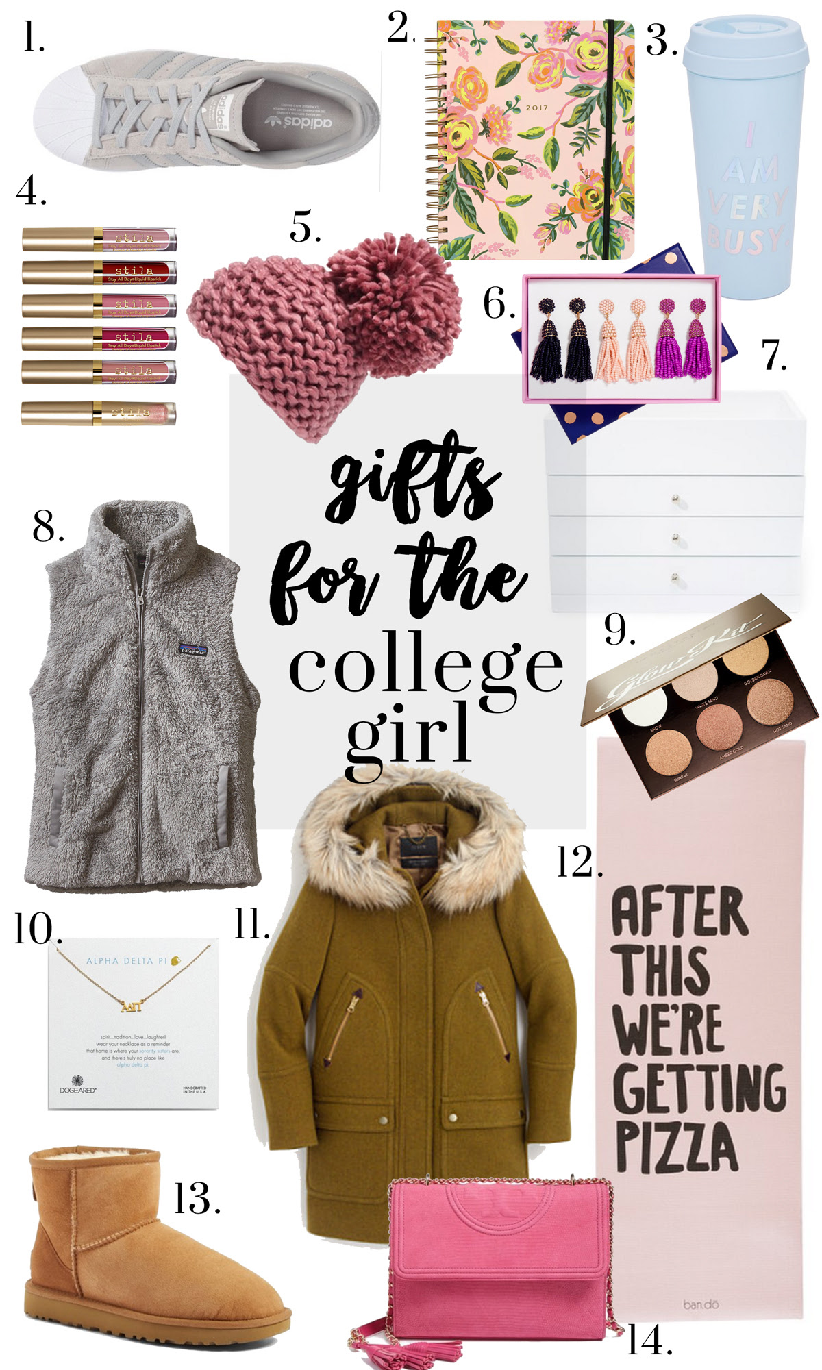 gifts for college girls - Glitter & Gingham