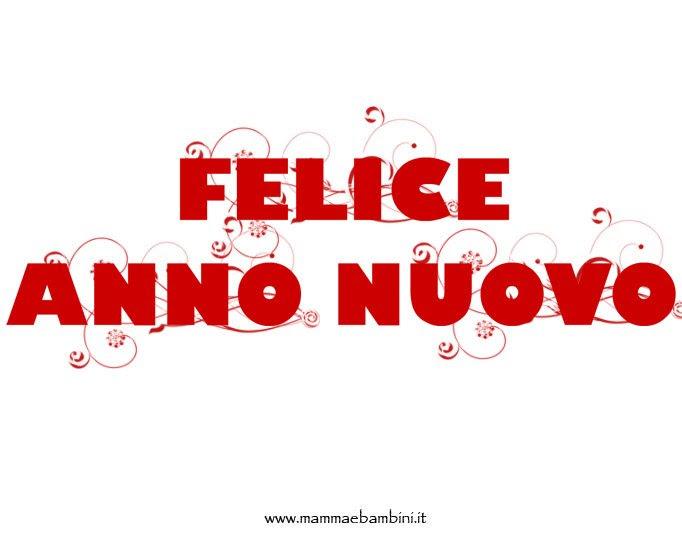 Felice Anno Nuovo Da Stampare Mamma E Bambini