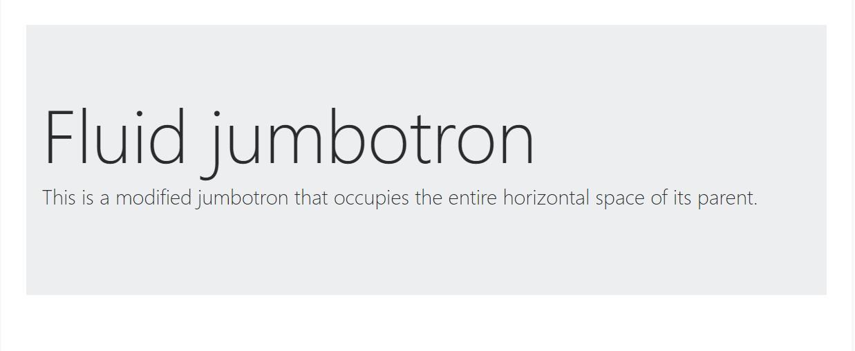 Bootstrap Jumbotron Css