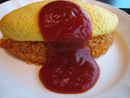 omelet rice, omurice