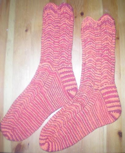 Katy's Socks DONE!