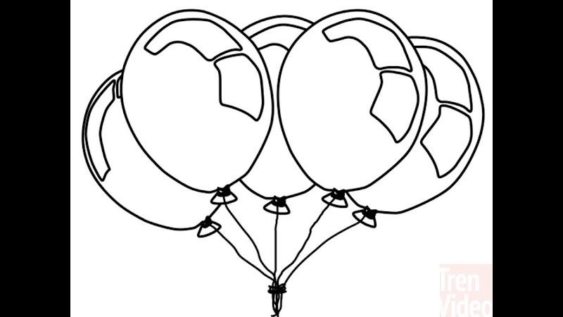 Populer 23+ Gambar Sketsa Balon Udara