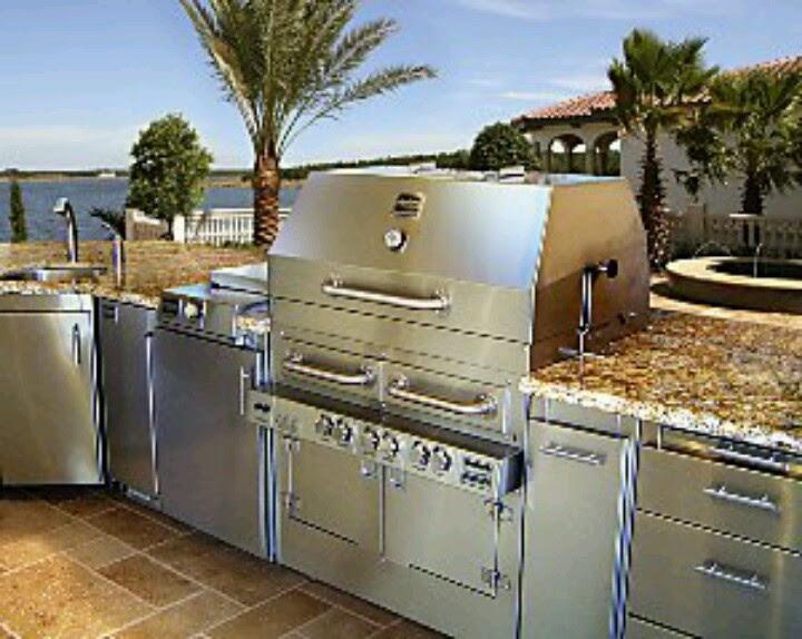 Backyard bar and grill ideas