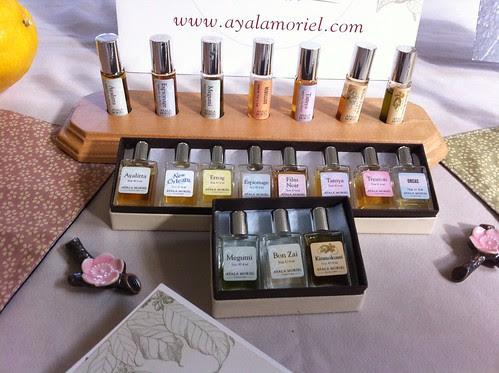 Ayala Moriel Parfums  display