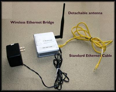 Geeks on Tour Blog: WiFi Tip: Using a Wireless Ethernet Bridge