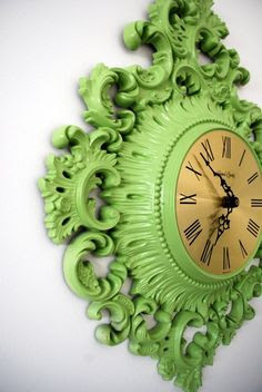 Ornate Vintage Clock by happydayvintage on Etsy