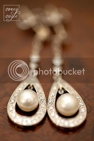 pearl earrings for wedding
