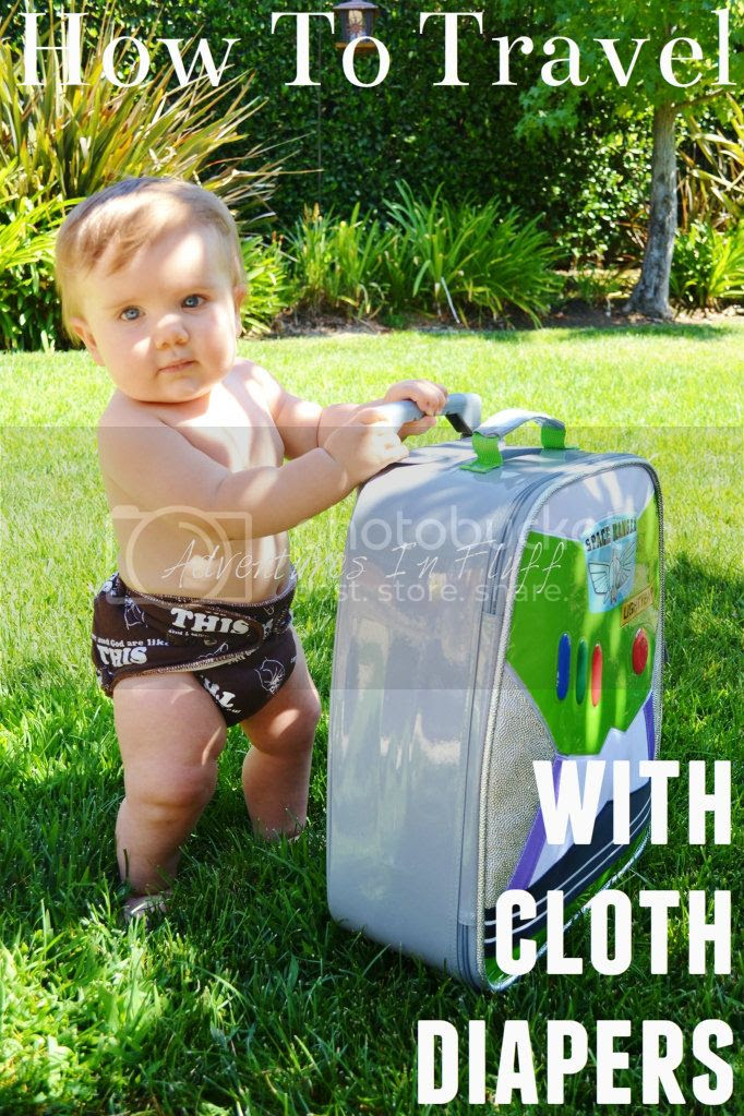 How To Travel With Cloth Diapers