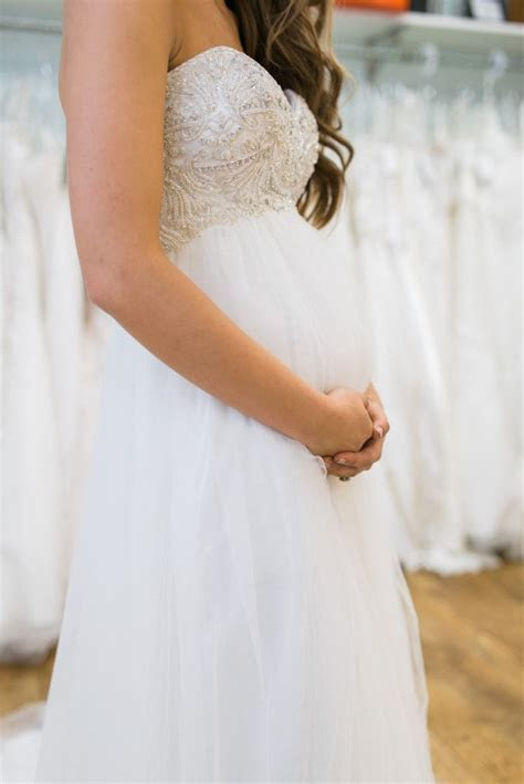 25  best ideas about Pregnancy wedding dresses on Pinterest