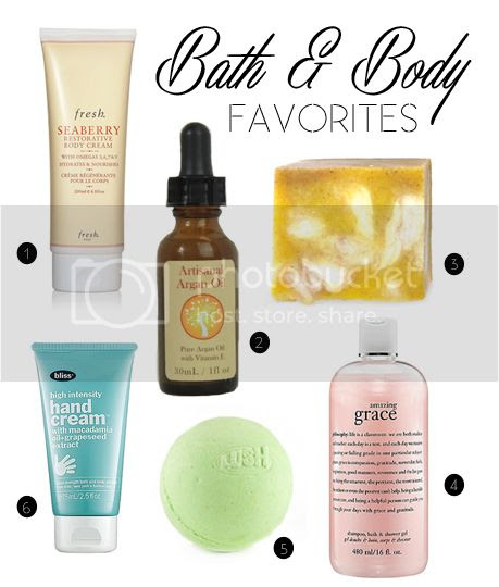 Hello Jack Blog: Bath & Body Favorites