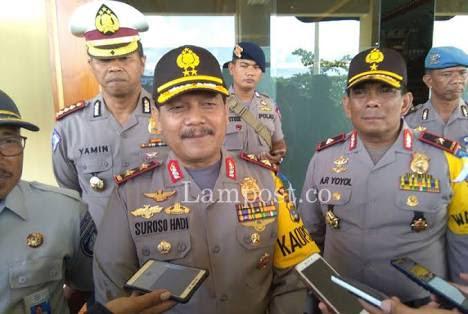 LAMPUNG POST | Jelang Pilkada, Kapolda Lampung  Diganti