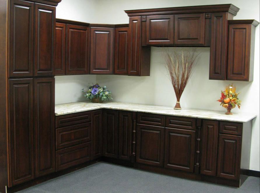 Cherry antique Kitchen cabinets Design   kitchen cabinets ...
