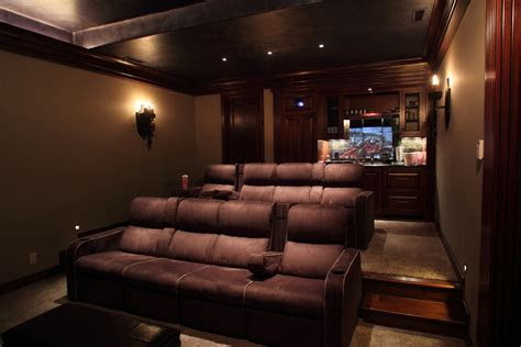 media room couch home theater room  bar mobile homes