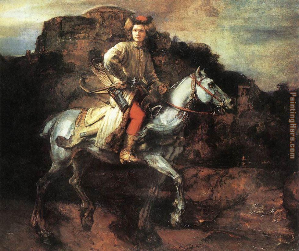 Polish Rider Painting