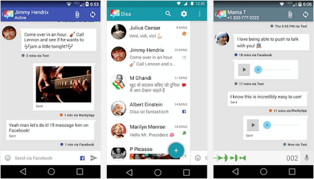 برنامج Disa لفتح جميع تطبيقات التواصل الاجتماعى