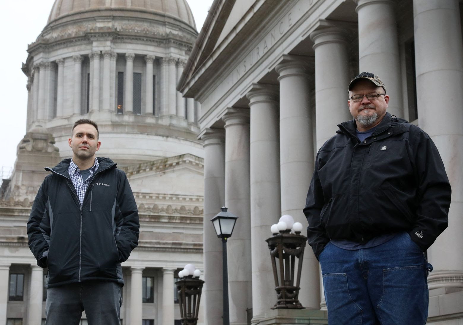 Their daughters' rare disease brought two dads together. Now they're fighting for early genetic testing in Washington state.