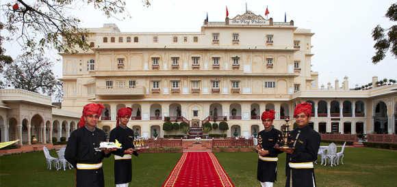 Amazing images of Raj Palace hotel in Jaipur