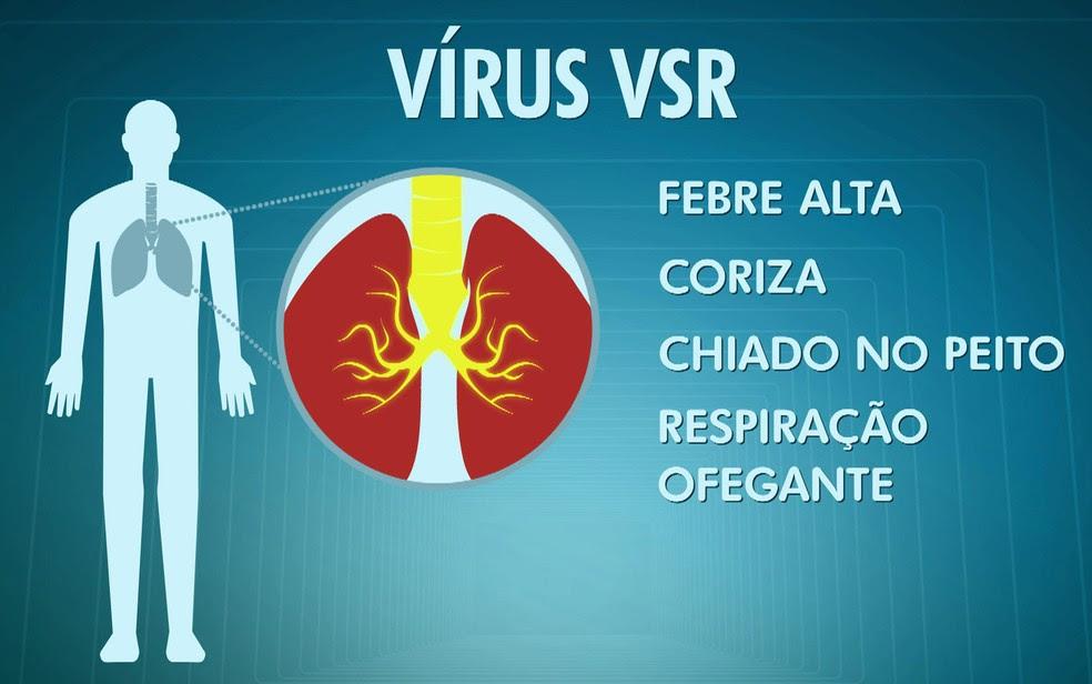Vírus VSR (Foto: TV Globo/Reprodução)