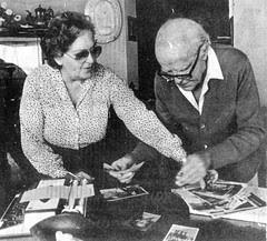 Periodista Alfonso Tealdo y esposa