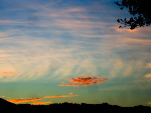 Sunset over Stanford