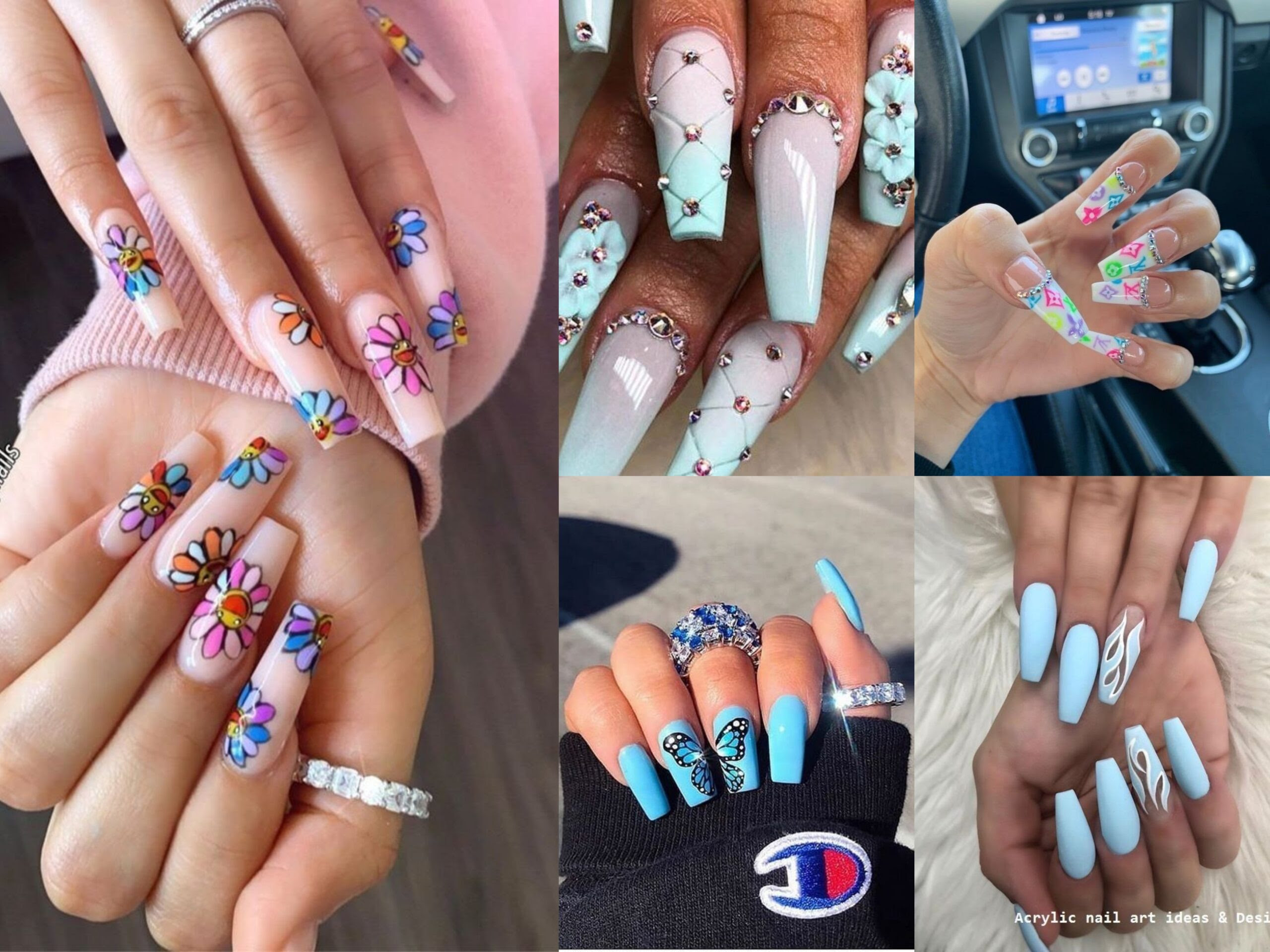 20 Cool Acrylic Nail Art Designs And Ideas To Carry Your Attitude Top Fashion News
