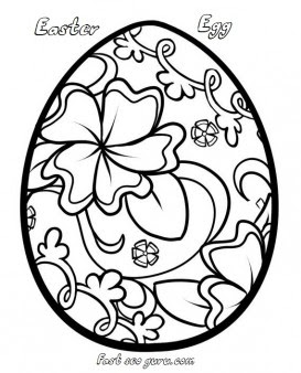 Print out easter egg decorating coloring pages - Free ...