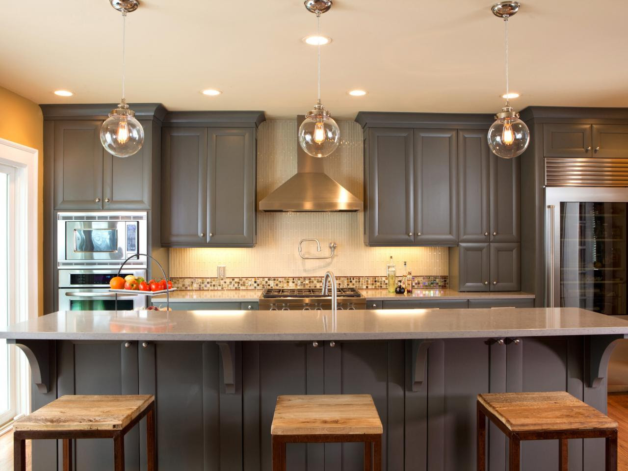 Ideas for Painting Kitchen Cabinets Pictures From HGTV