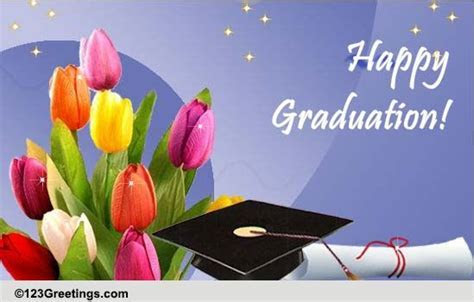 Heartwarming Wishes On Graduation. Free Happy Graduation
