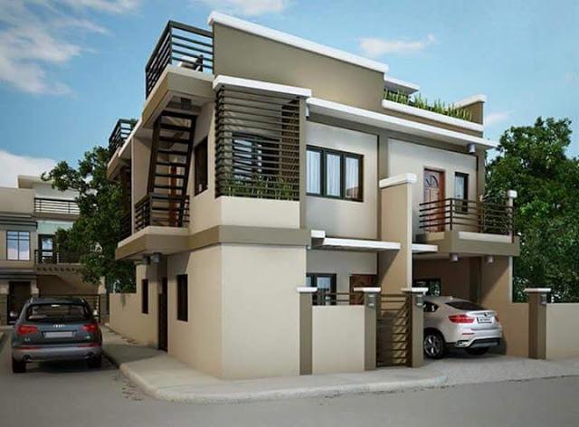 10 Rumah Minimalis 2 Lantai Modern Rumah Pantura