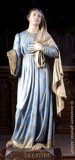 Sainte Honorine, vierge, martyre gauloise († 303)