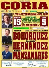 CORIA ACOGERÁ LA I FERIA INTERNACIONAL DEL TORO DEL 14 AL 16 DE MARZO