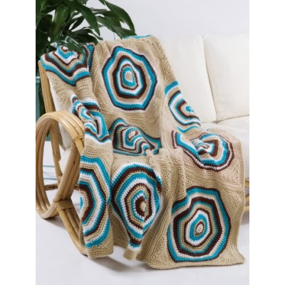 Retro Circle Throw