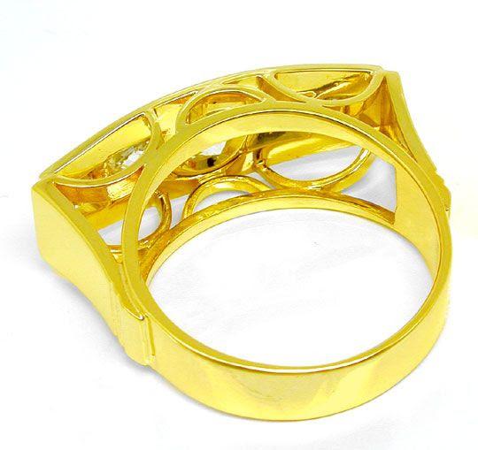 Originalfoto EINMALIGER DIAMANT-RING, 40er-JAHRE, RIVER, 9.200€ NEU!