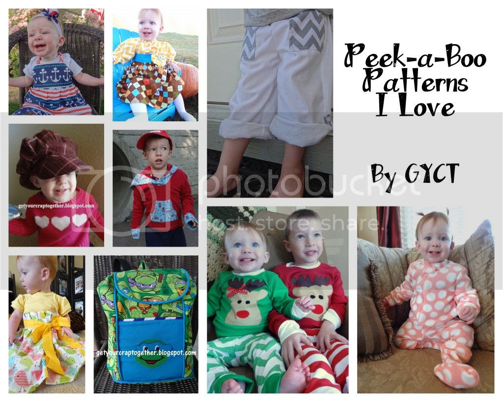 Peekaboo Patterns sewn by GYCT