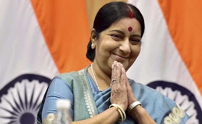 Image result for Sushma Swaraj