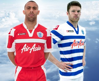 Queens Park Rangers New Kit 2012/13- Hoops unveil new home and away shirts for 12-13 season by Lotto