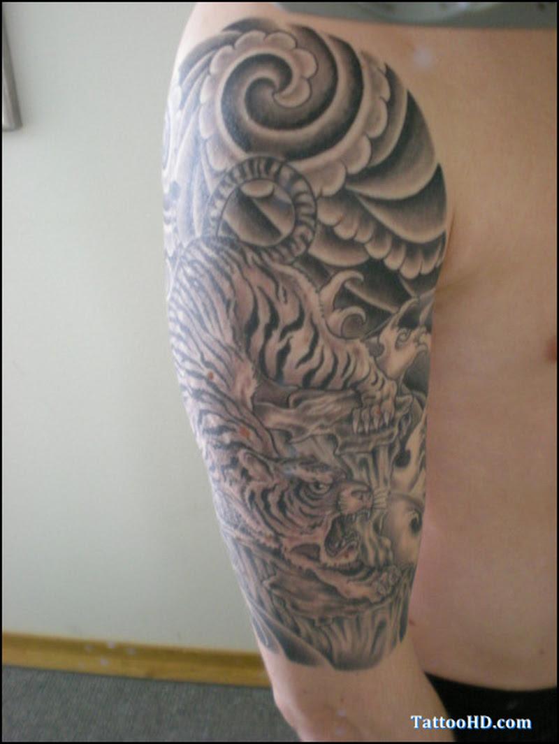 Half Sleeve Japanese Pic Tattoo Tattoos Book 65000 Tattoos Designs
