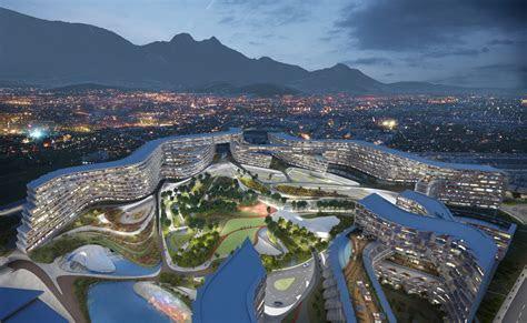 Zaha Hadid divulga projeto de habitação em Monterrey