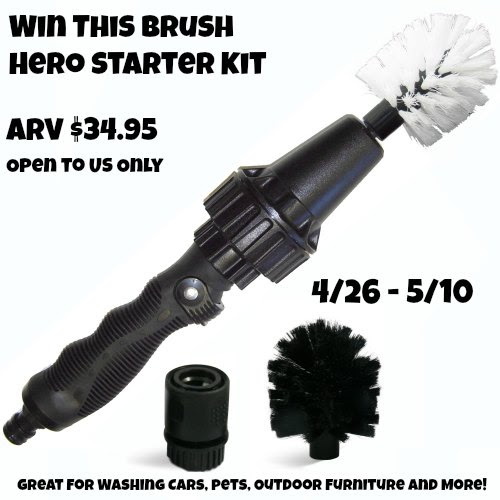 Brush Hero Starter Kit Giveaway Ends 5/10 Good Luck from Tom's Take On Things