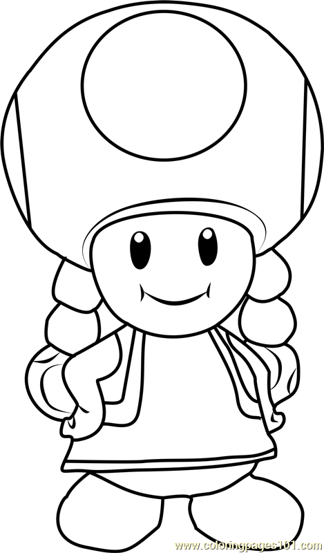 super mario captain toad coloring pages