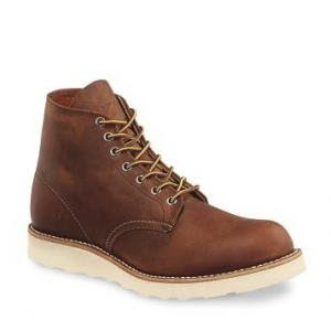 RED WING 9111 CLASS WORK ROUND TOE COPPER SIZE 12 D