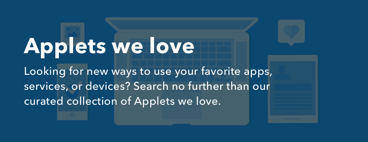 Applets we love