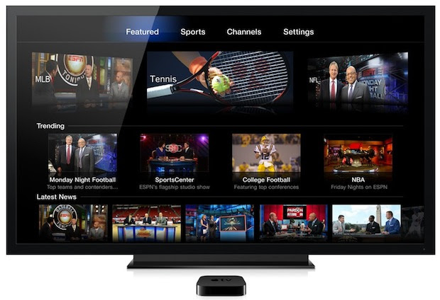 Watch ESPN on Apple TV