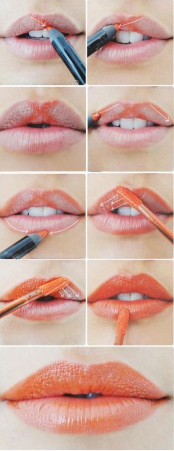 naranja labios