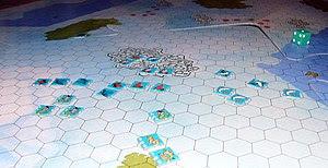 Idro wargame mapboard detail