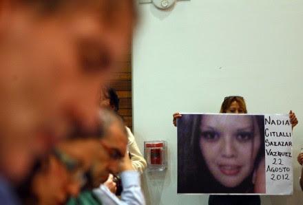 Presentan informe sobre desapariciones en México. Foto: Germán Canseco