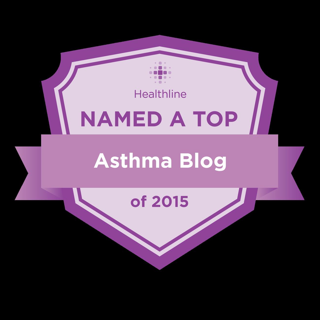 asthma best blogs badge
